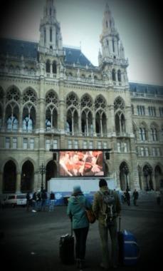 Vienne 1e janvier, Rathausplatz
