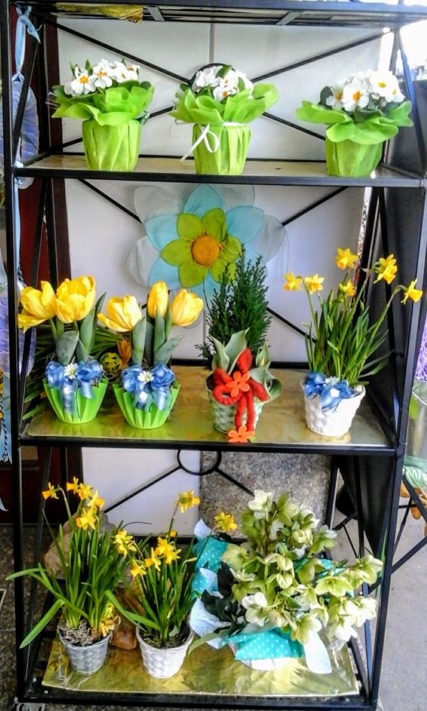 Chez les marchands de fleurs viennois