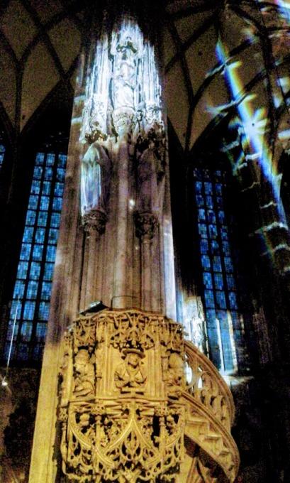 Stefansdom nuit des églises