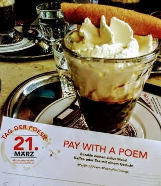 Pay with a Poem by Julius Meinl
