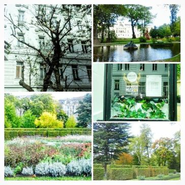 Vienne en vert en automne
