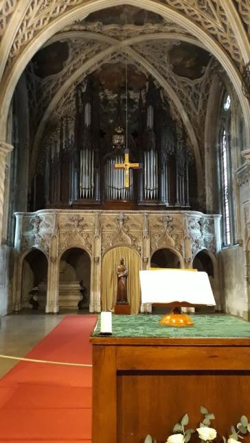 Le choeur de l'abbaye de Hautecombe