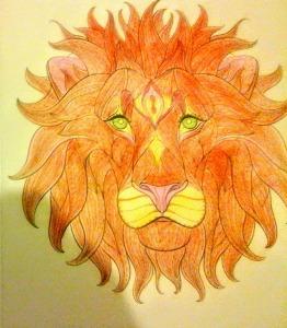 lioncoloriage