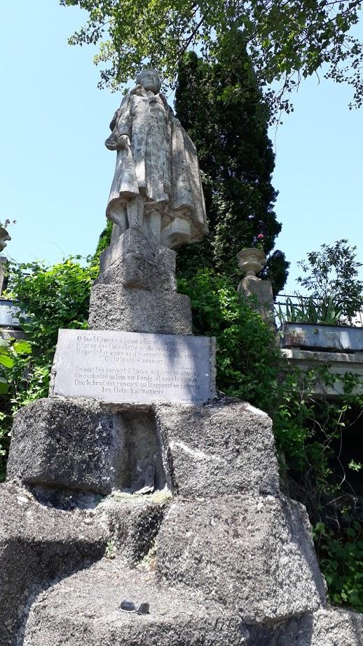 statuede lamartine